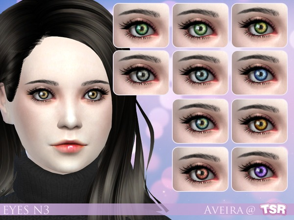 The Sims Resource: Eyes N3 by Aveira