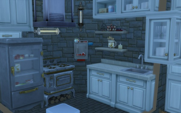 Mod The Sims: Rivendell, elven outpost (no CC) by artrui