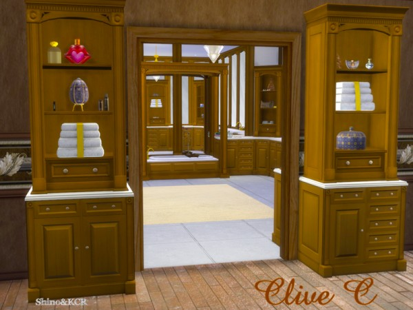 The Sims Resource: Bathroom Clive by ShinoKCR