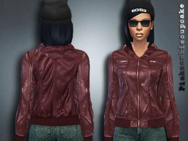 The Sims Resource: Hodeed Biker Jacket by Pinkzombiecupcake