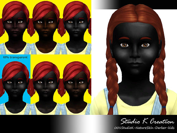 Studio K Creation: Nature Darker Skin for kids