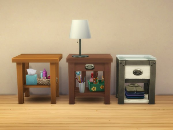 Mod The Sims: Maxis Endtables: More Slots by plasticbox