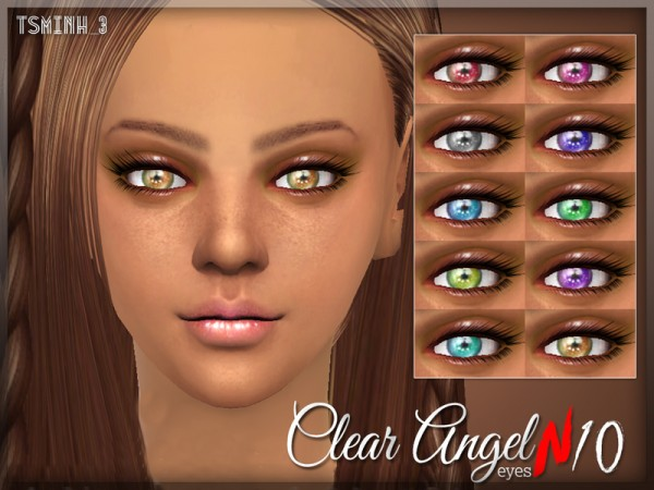 The Sims Resource: Clear Angel Eyes by tsminh 3