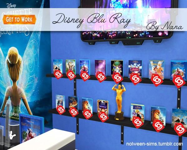 Nolween: Disney Blu Ray   BY NANA