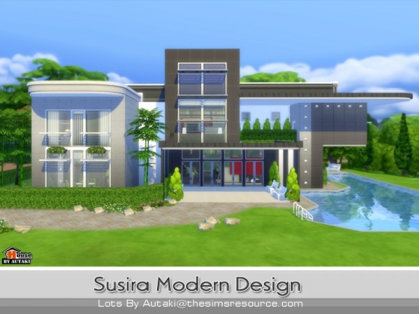 The Sims Resource Susira Modern Design by Autaki Sims 4 Downloads