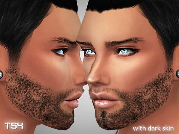 The Sims Resource: Realistic beard by Pinkzombiecupcake