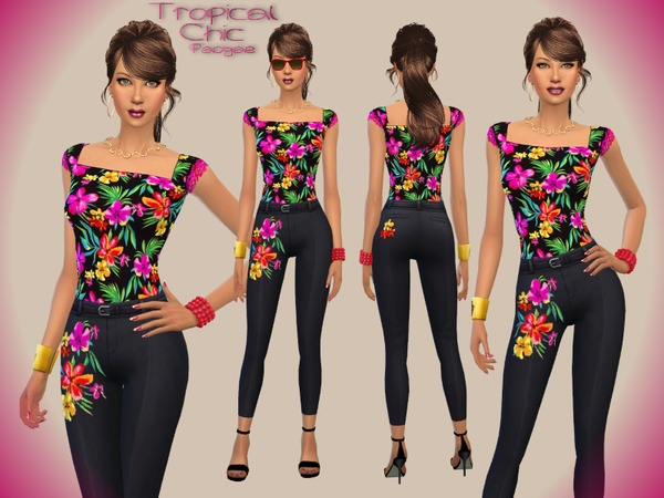 The Sims Resource: Tropical Chic by Paogae