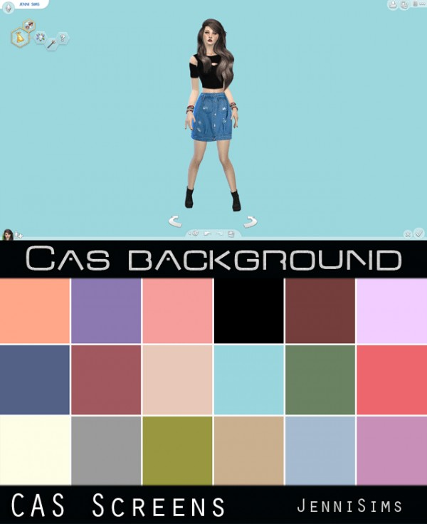 Jenni Sims: CAS Screens My Colors  18 Cas background