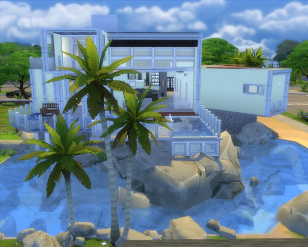 Mod The Sims Beach House Dreamingwater By Artrui Sims
