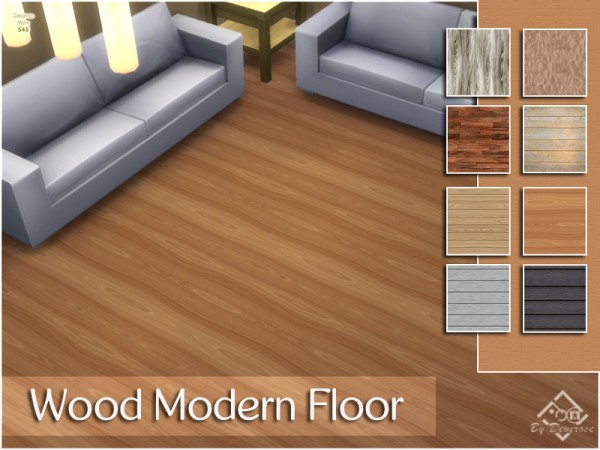 The Sims Resource: Wood Modern Floor by Devirose