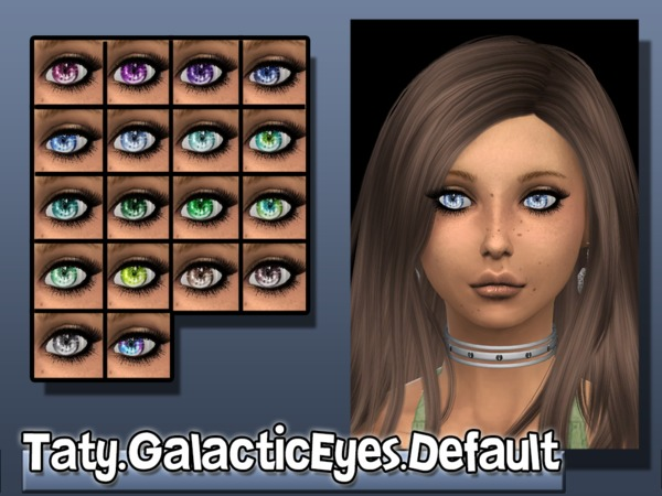 The Sims Resource: Galactic Eyes by Taty