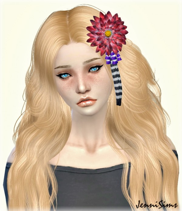 Jenni Sims: Sets Hair Accessories   Chinese Flower, Headband Angel, bear clip hairstyles