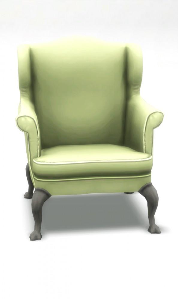 Mod The Sims Bracken Living Room Chair Sims 3 Conversion