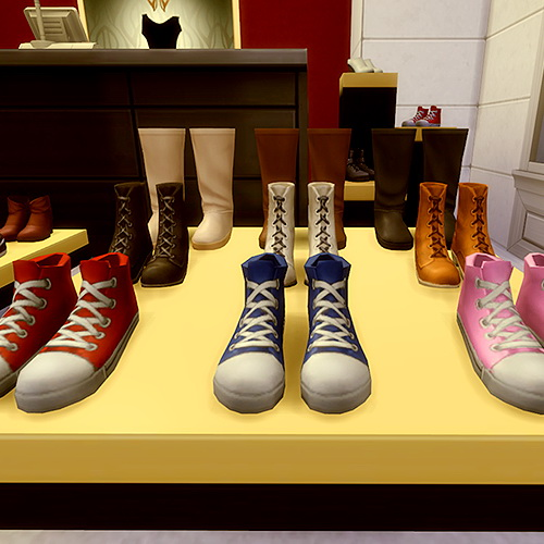 Js Boutique Shoes For Sale Part 1 Sims 4 Downloads