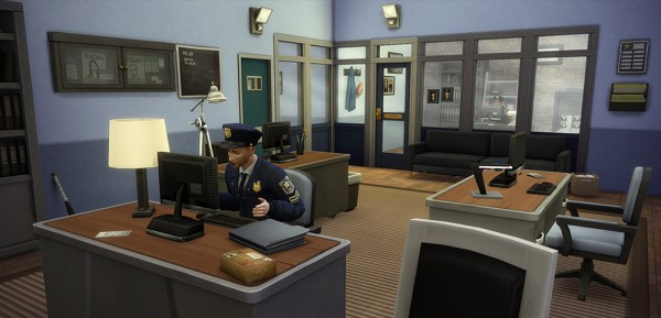 Simsontherope: The science lab, the police station, and the hospital