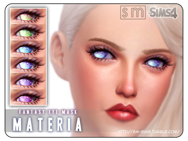 The Sims Resource: Materia    Fantasy Eye Mask by Screaming Mustard