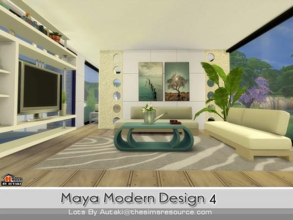 The Sims Resource: Maya Modern Design 4 by Autaki