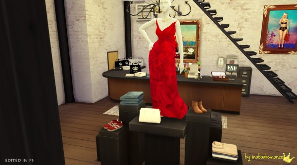 In A Bad Romance Fashion Store Sims 4 Downloads