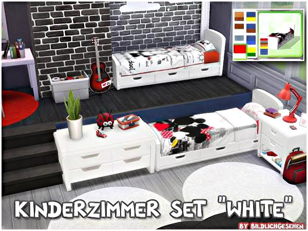 Akisima Sims Blog: Nursery white set