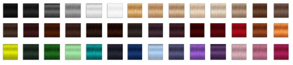 Miss Paraply: Hair retexture   Sintiklia Britney   42 colors