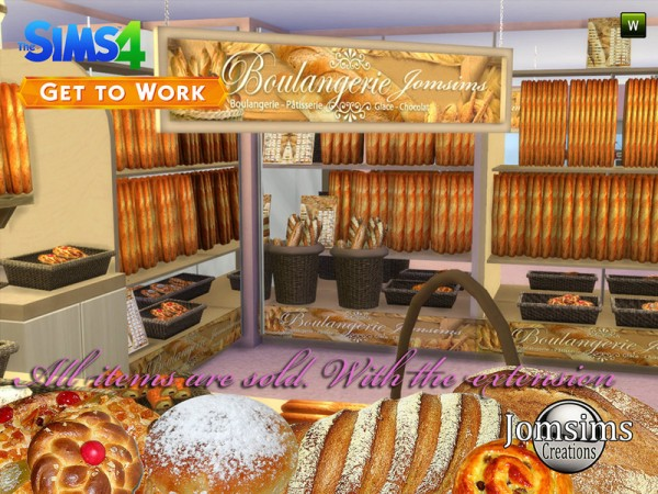 The Sims Resource: The bakery 2015 by JomSims