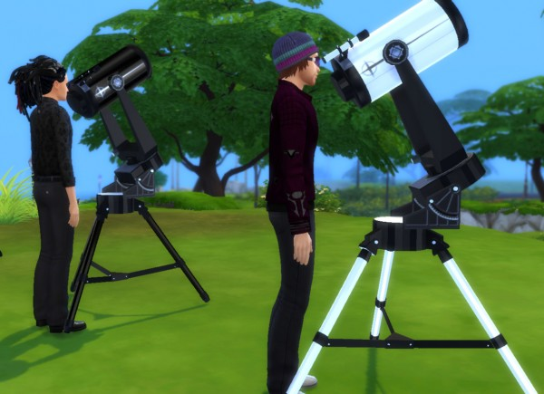 Mod The Sims: Telescope as Observatory Alternative by Esmeralda
