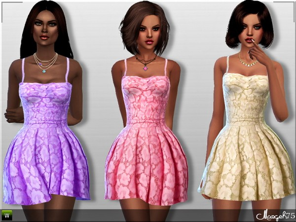 Sims 3 Addictions: Promises Dress by Margies Sims