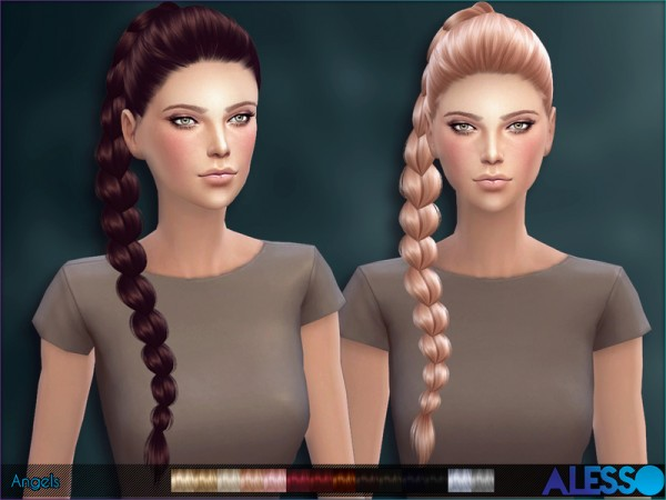 The Sims Resource: Alesso   Angels hair