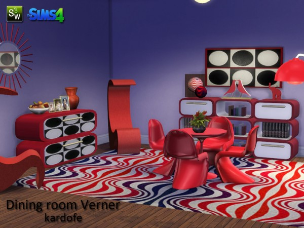 The Sims Resource: Dining room Verner by Kardofe