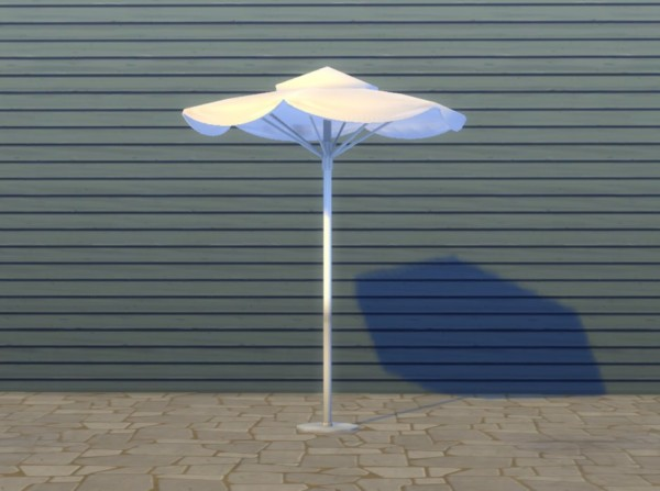 Mod The Sims: Eco Freak Patio Umbrella by plasticbox