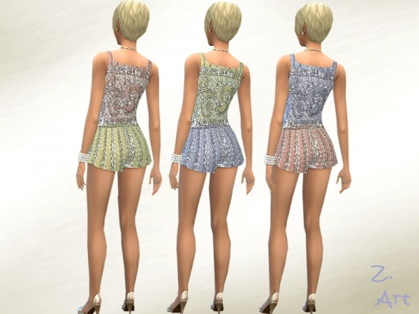 The Sims Resource: Shell Shine Set by Zuckerschnute20