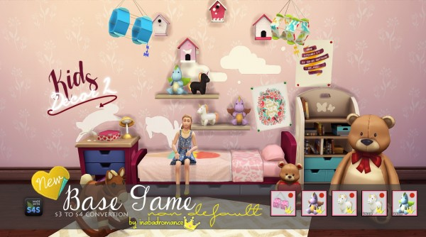 In A Bad Romance Kids Decor 2 Toys Sims 4 Downloads