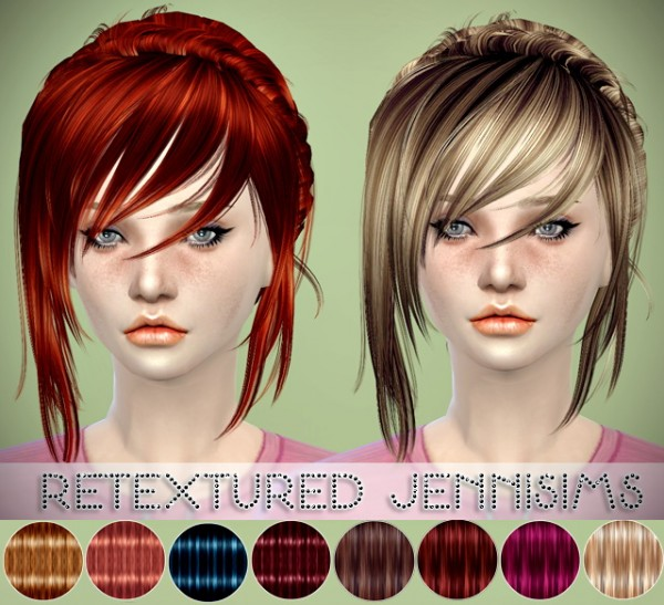 Jenni Sims: Newsea`s Summer Flavour and Aeolian Bell hair retextured
