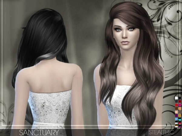 The Sims Resource: Stealthic   Sanctuary hairstyle