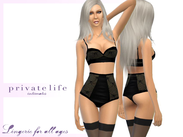 The Sims Resource  Lise Charmel inspired lingerie set by  zorgsprivatelife2000 4737b96f5