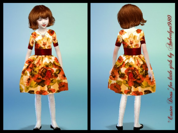 Amberlyn Designs Sims: Cute Easter Dresses