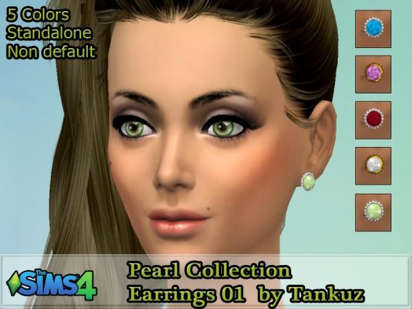 Tankuz: Pearl Collection   Earrings 01
