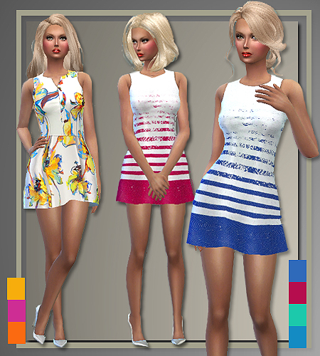All About Style Milly And Mini Milly For Summer Sims 4
