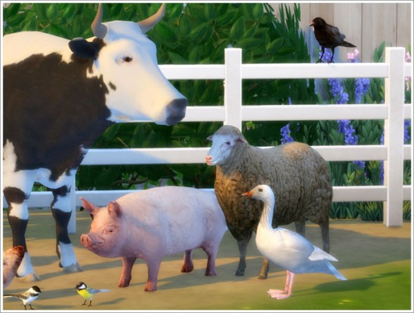 Sims by Severinka: Animals converted part II