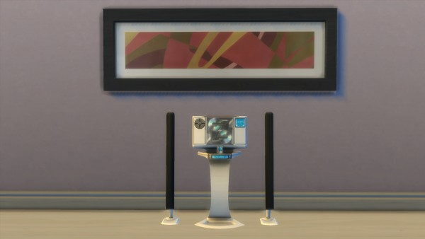 Mod The Sims: Modern Stereo by AdonisPluto