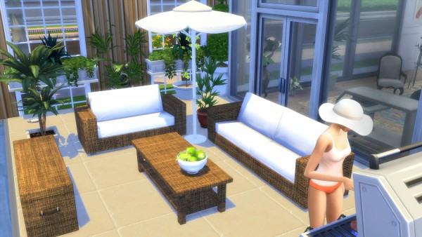 Mod The Sims Garden Furnitures Set By Wallpaper