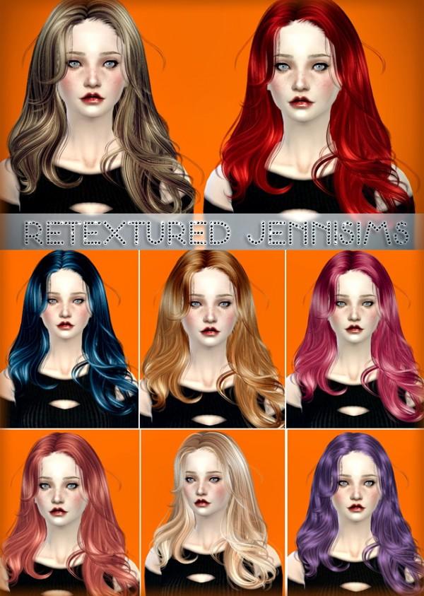 Jenni Sims: Newsea`s Equinoxe hairstyle retextured