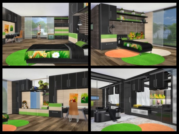 The Sims Resource: ALTARA modern living by Chemy