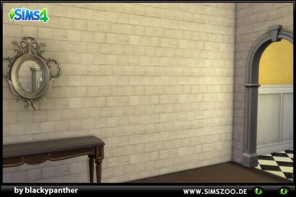 Blackys Sims 4 Zoo: Brick wall by blackypanther