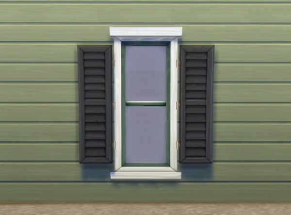 Mod The Sims Separate Window Shutters By Plasticbox
