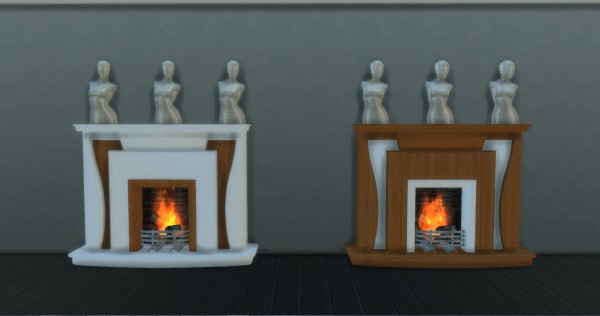 Mod The Sims: Fireplace by Adonis Pluto