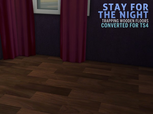 The Path Of Nevermore: Peggy 455 hair, wooden floors and Youthanasia hair