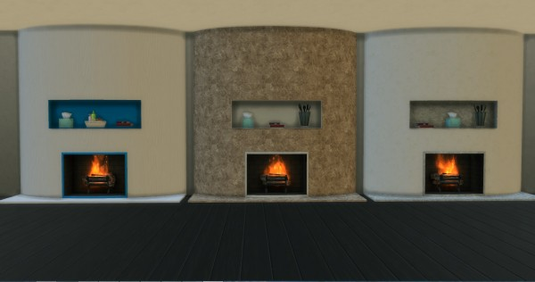 Mod The Sims: Fireplace by Adonis Pluto • Sims 4 Downloads