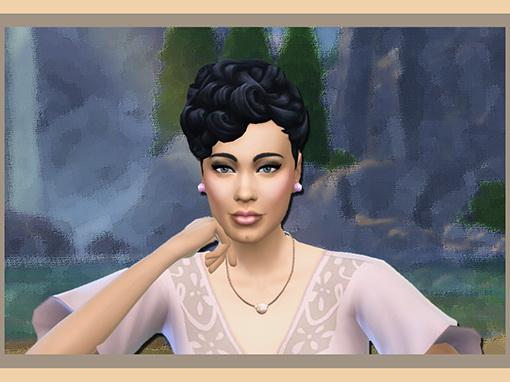 Les Sims 4 Passion: Harmonie Rose