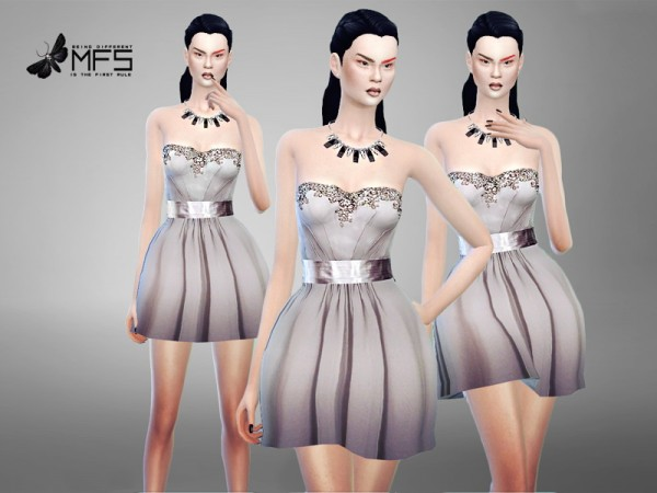 MissFortune Sims: Pearl Dress